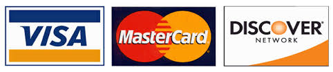 DOMAIN accepts Visa, Mastercard, Amex, Discover card and Paypal